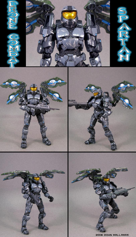 Drone Combat Spartan