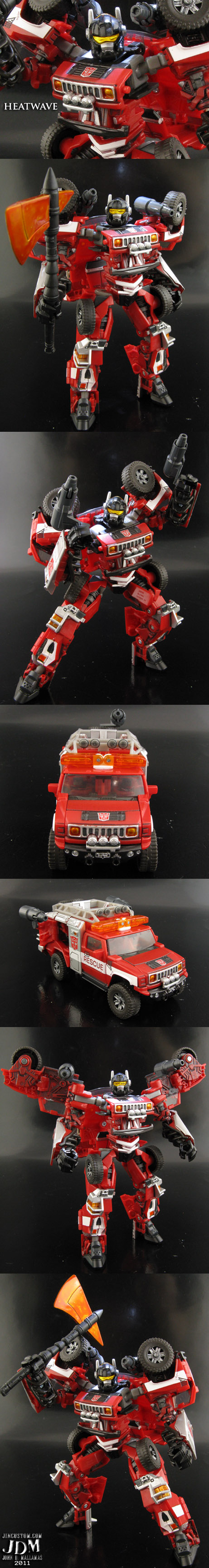 Transformers Heatwave Custom