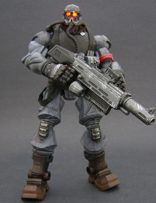 Custom Killzone Action Figure