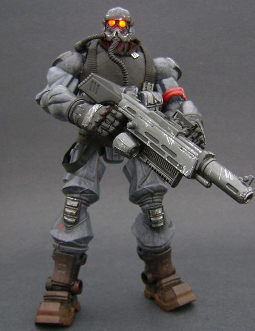 Custom Killzone Action Figure
