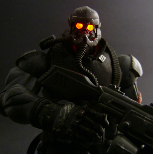 Custom Helghast Killzone Figure