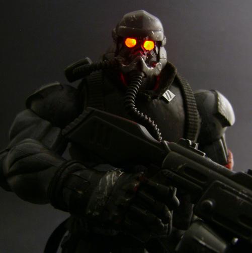 Custom Helghast Killzone Figure