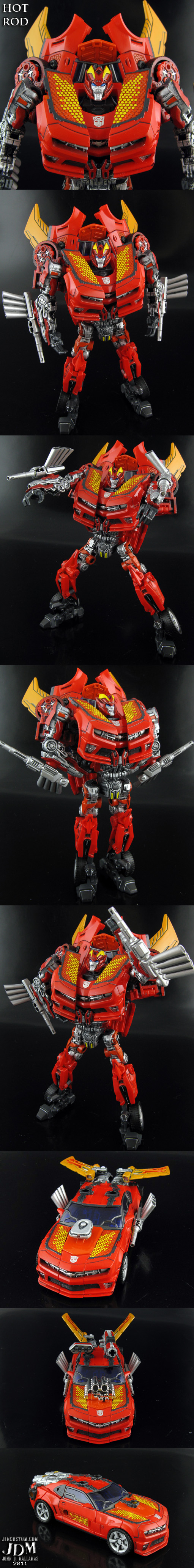 Hot Rod Transformers