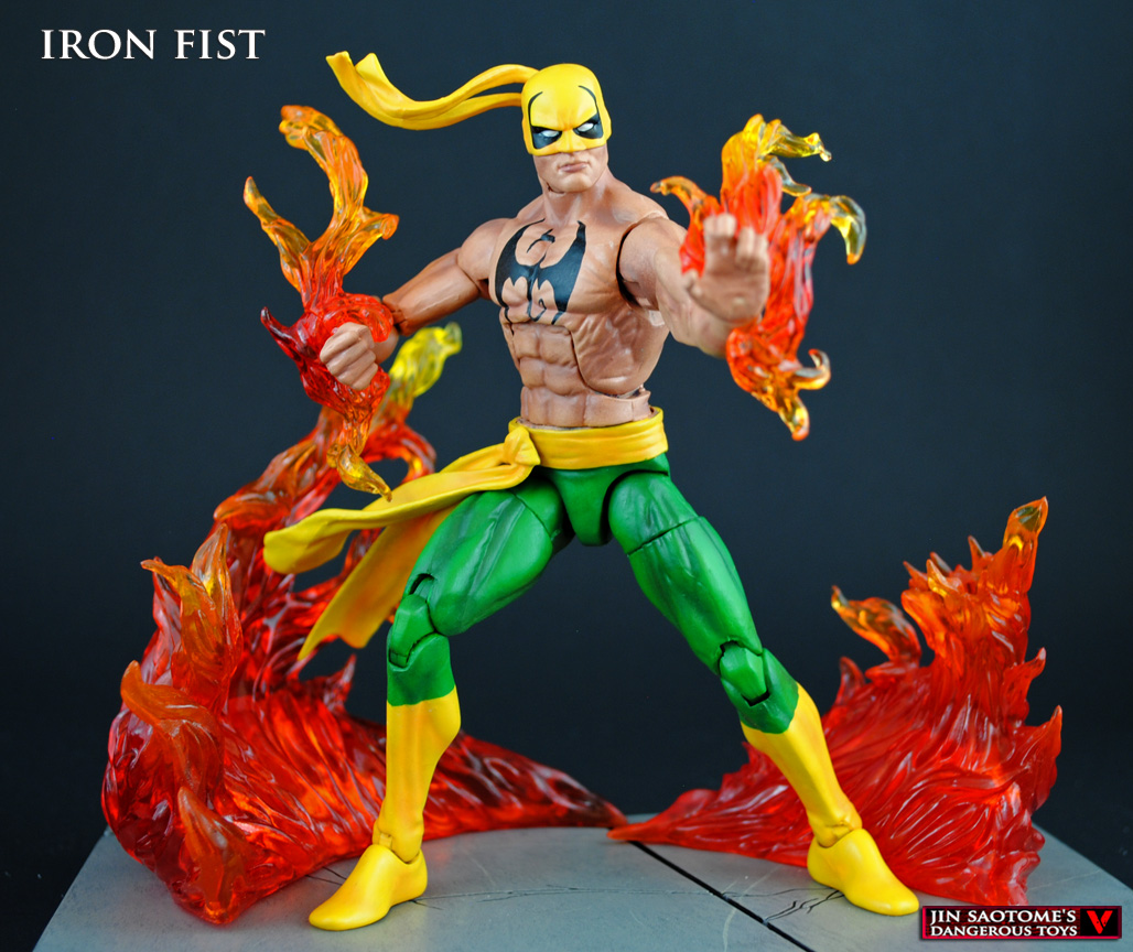The legend of iron fist