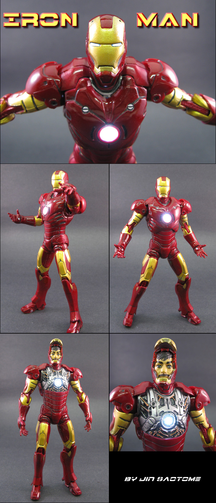 Light Up Iron Man