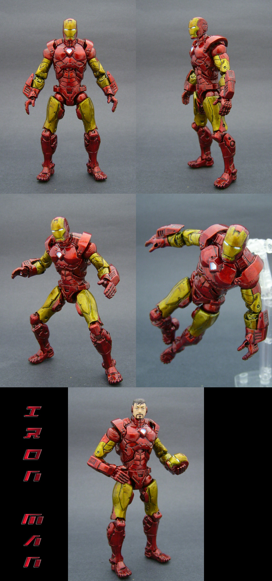 Custom Iron Man Figure