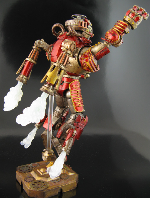 Custom Steampunk Iron man