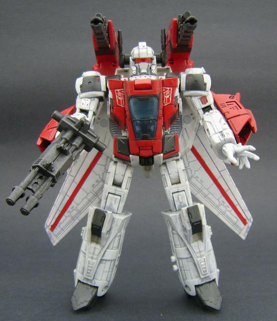 Custom Jetfire Transformers Figure
