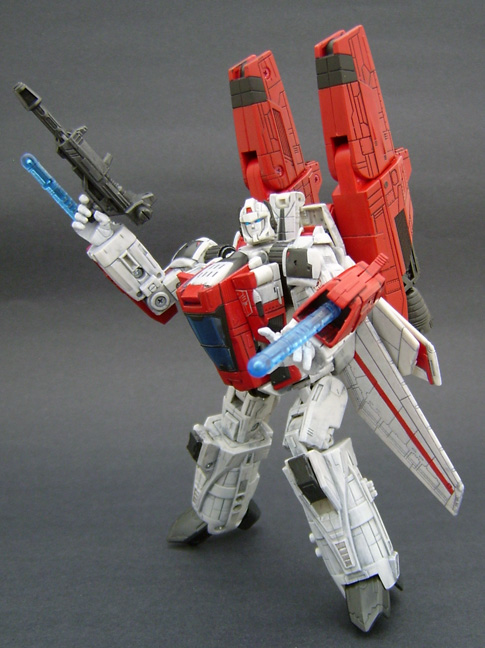 Custom Jetfire Action Figure