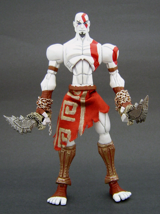Custom Kratos Figure