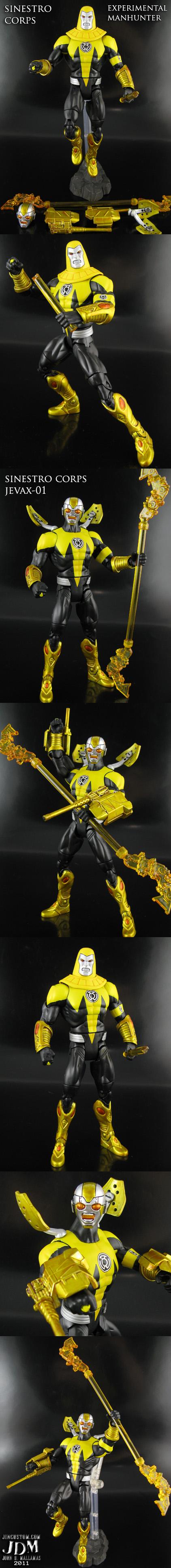 Custom Sinestro Corps