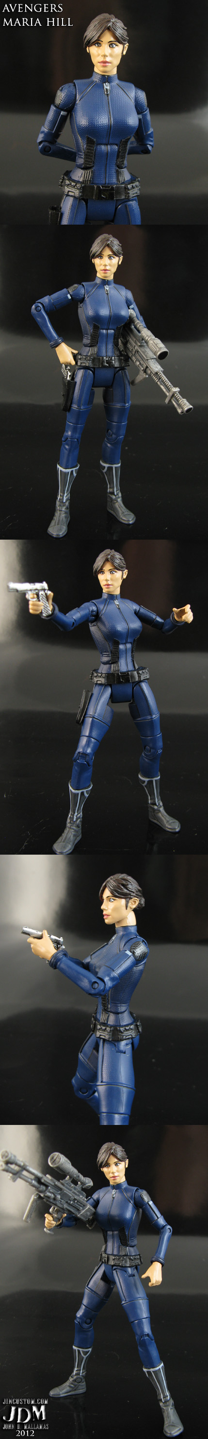 Avengers movie Maria Hill
