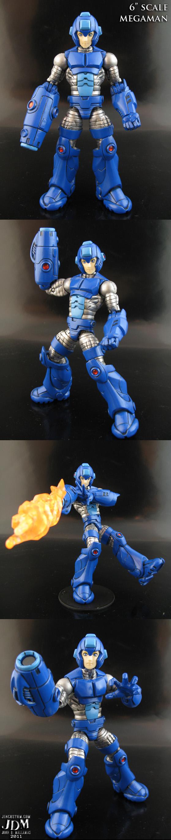 Megaman Marvel Legends