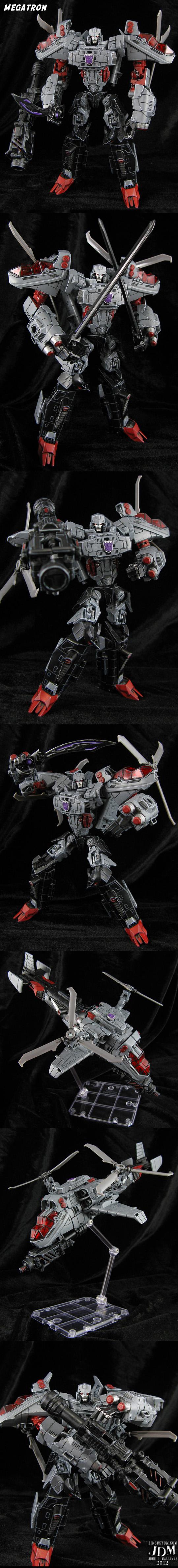 Custom Megatron Figure