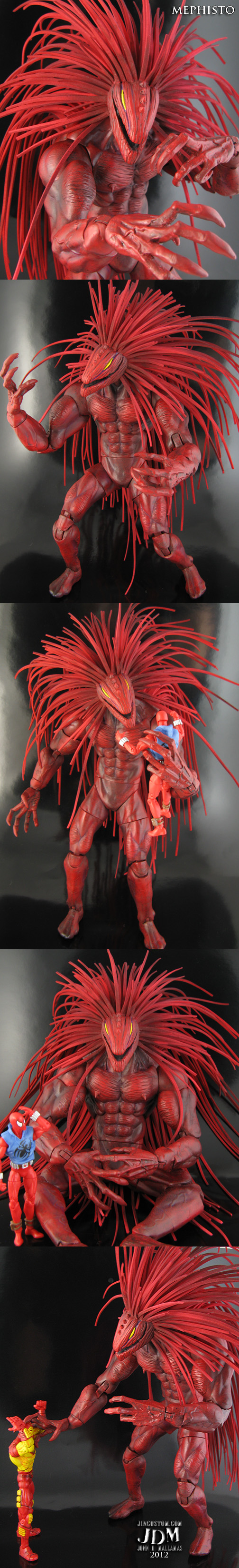 custom Mephisto Marvel Legends