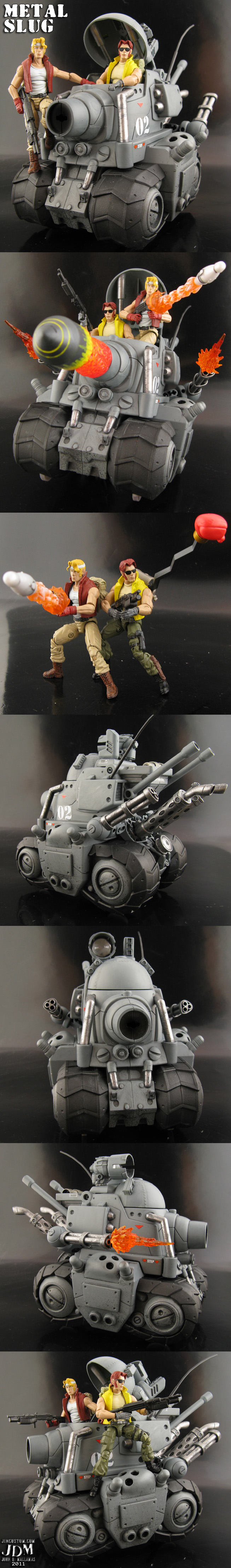 Custom Metal Slug Tank