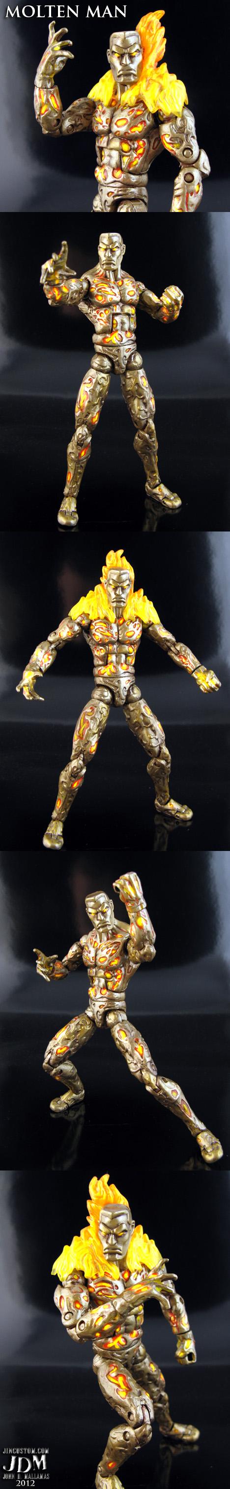 Custom Molten Man