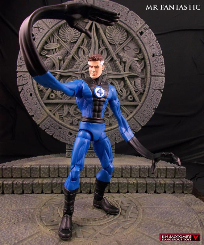 Fantastic 4 S Mr Fantastic Custom Marvel Legends Figure