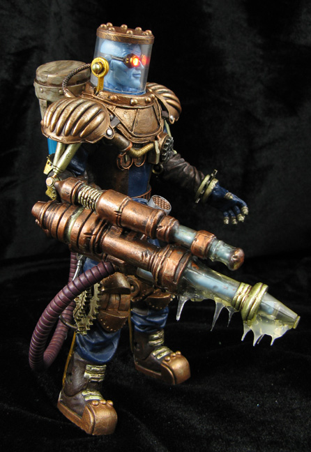 Steampunk DC figure