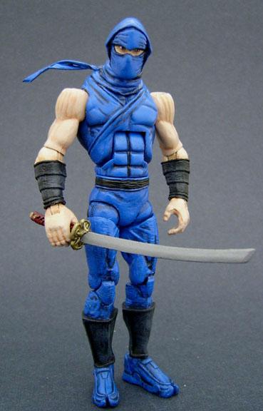 Custom Ninja Gaiden Ryu Hayabusa Oldschool Look Custom Figures
