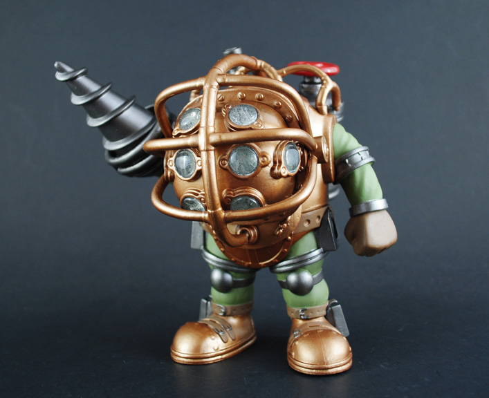 Funkie Big Daddy : custom funko pop bioshock big daddy figure with light up ~ Michelbontemps.com Haus und Dekorationen
