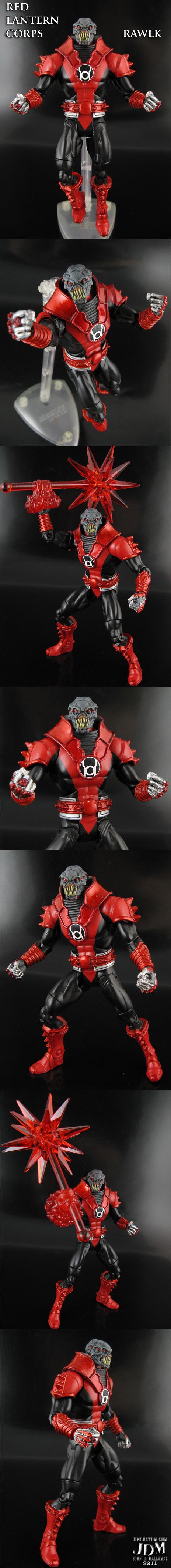 Custom Red Lantern Figure