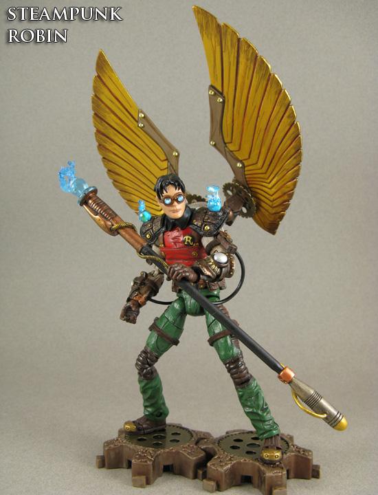 Steampunk Robin