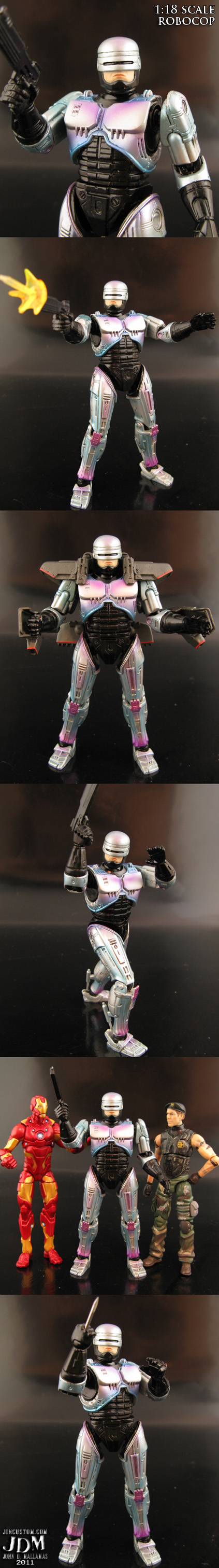 Custom 1:18 Robocop