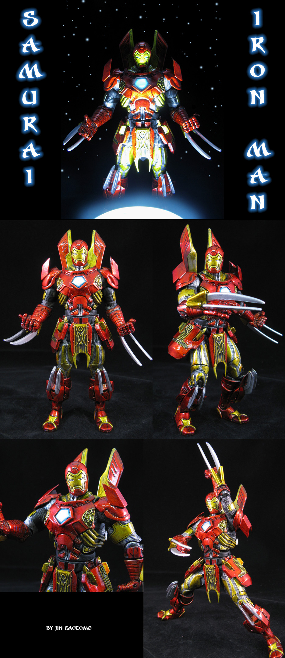 Samurai Iron Man