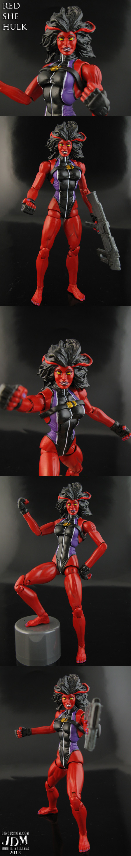 Red She Hulk Marvel Legends