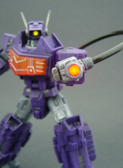 Custom Transformers Shockwave Figure