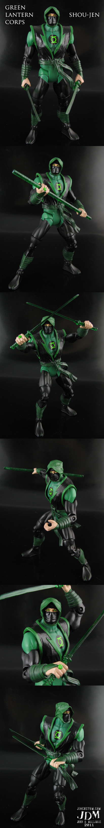 Custom Green Lantern Action Figure