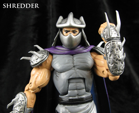 custom TMNT shredder