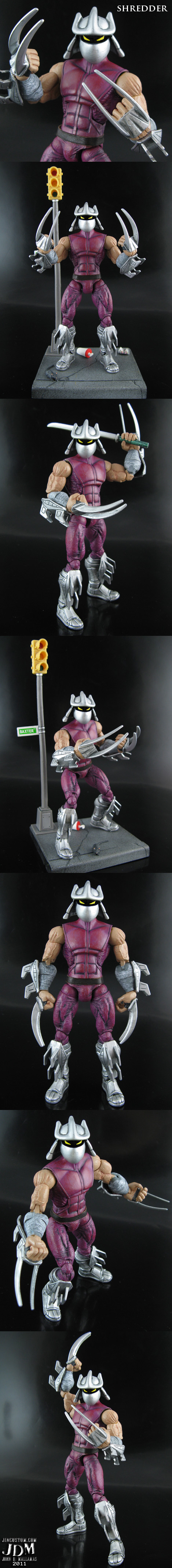 Custom Shredder TMNT