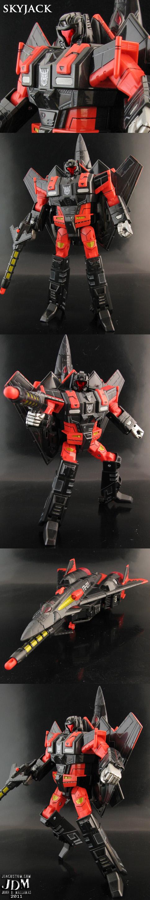 Transformers Skyjack Skyfall