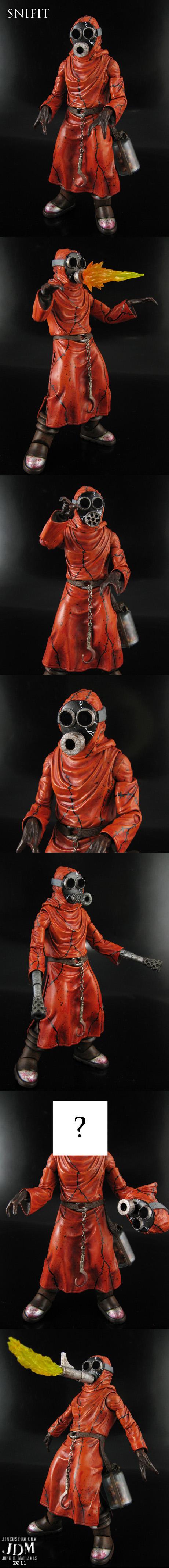Custom Snifit Figure