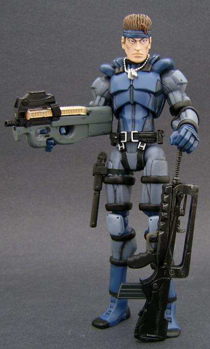 Custom Metal Gear Figure