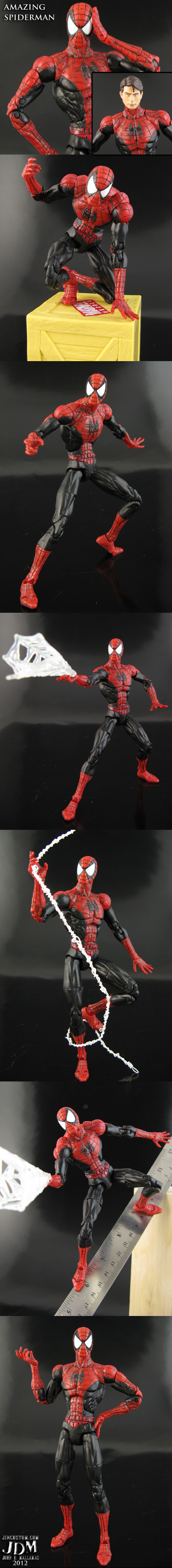 Custom Spiderman Figure