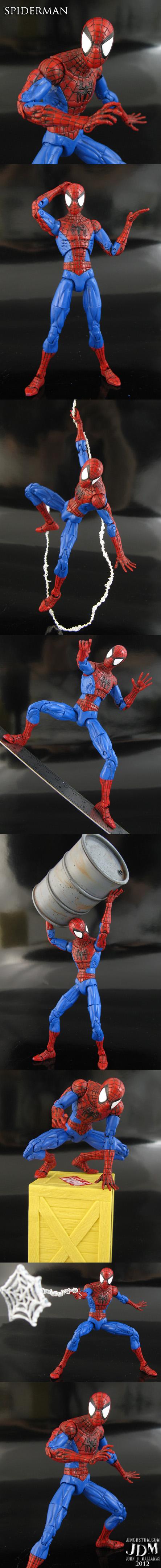 Spiderman Marvel Legends