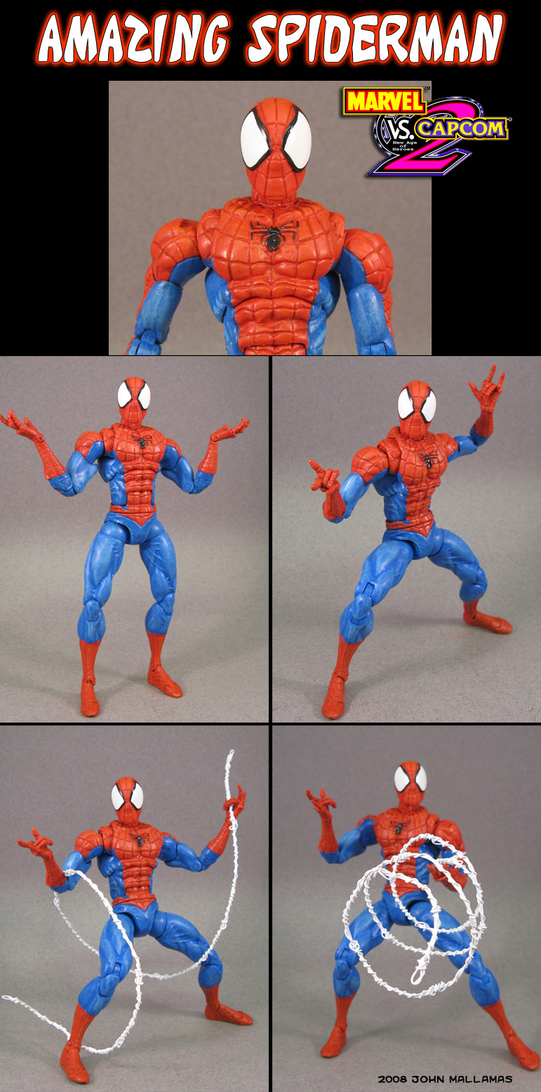 MvC2 Spiderman