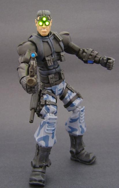 Custom Sam Fisher Action Figure