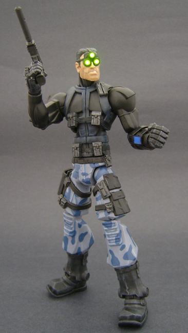 Custom Splinter Cell Action Figure