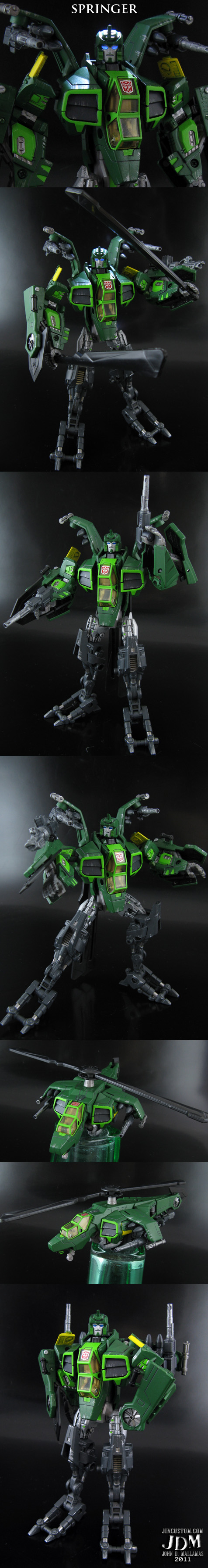 Custom Transformers Springer