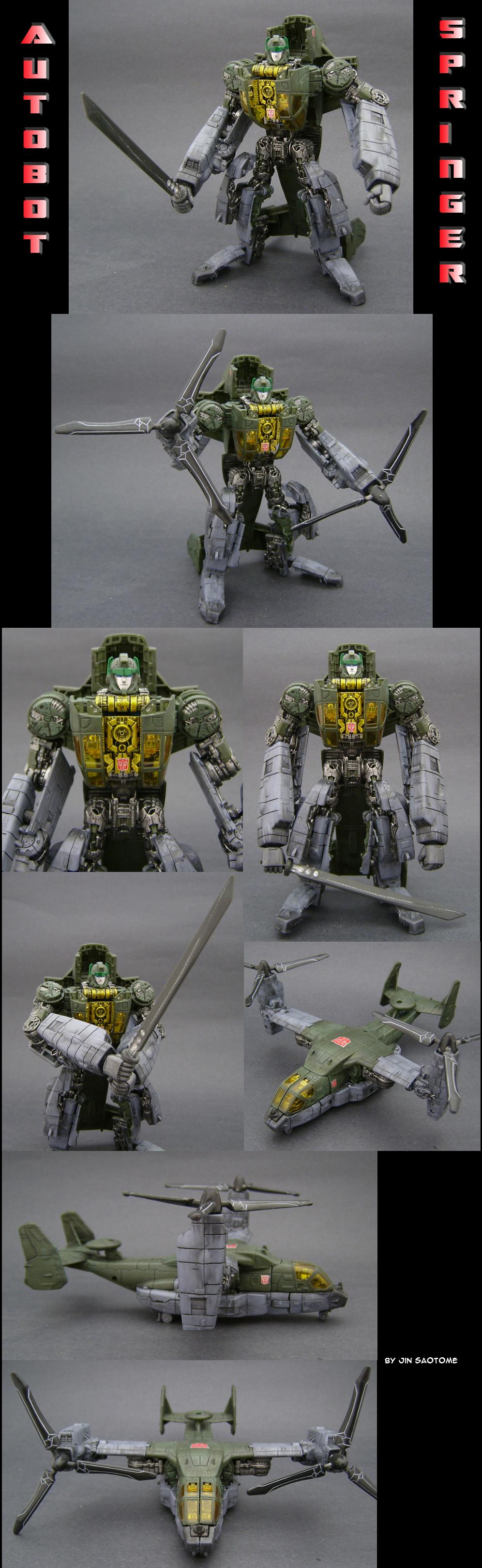 Transformers Springer Custom