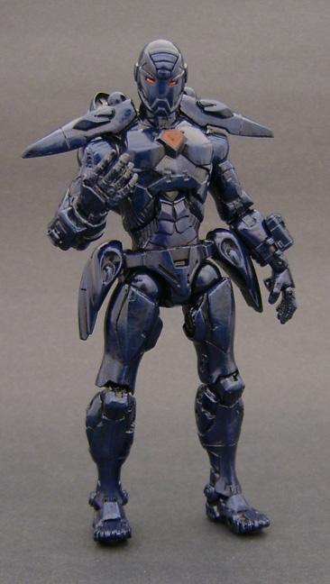 Custom Iron Man Action Figure