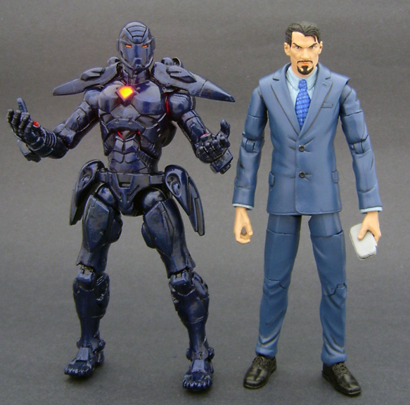 Custom Iron Man Action Figure
