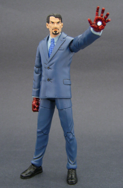 Custom Tony Stark Action Figure