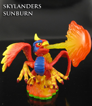 Custom Sunburn Skylanders