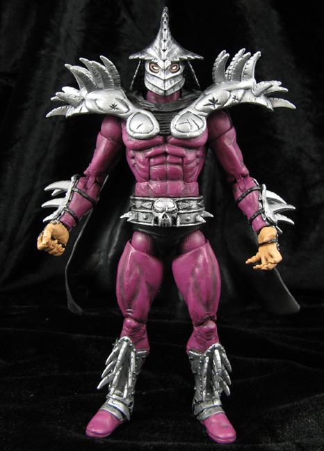 Custom Super Shredder Tmnt Movie Action Figure