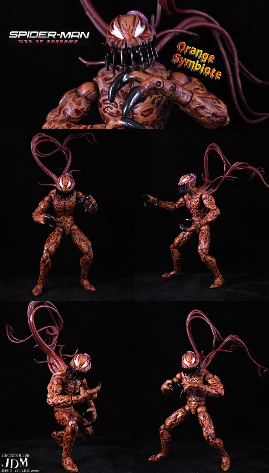 Spider Man Web Of Shadows Symbiotes